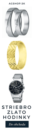 Striebro, zlato, hodinky
