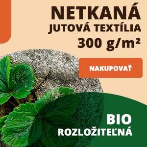 Prírodná netkaná textília