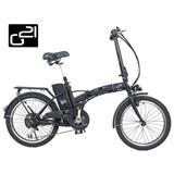 "G21 Elektrobicykel Lexi 20"" Graphite Black 2016"